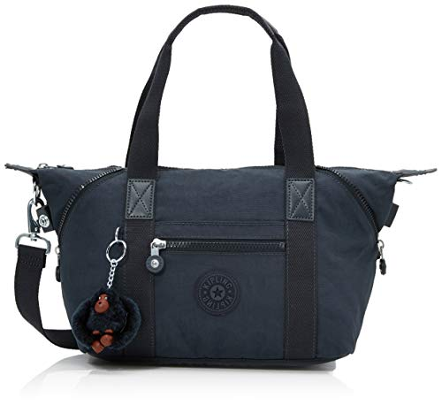 Kipling Damen Art Mini Henkeltasche, Blau (True Navy), 34x21x18.5 cm