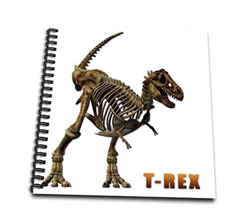 3dRose db_31872_2 T Rex Dinosaur-Memory Book, 12 by 12-Inch