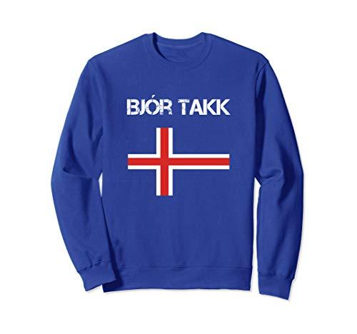 Beer Please Iceland Shirt Funny Icelandic Bjor Takk Sweatshirt