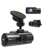 ドライブレコーダー 3カメラ ステッカー付き 1440P+1080P+1080P VANTRUE N4 3カメラ同時録画 【史上最高画質】 4K + 1080P 前後カメラ 24時間駐車監視 360度全方位保護 4K高画質 ドラレコ どらいぶ レコーダー 車内外同時撮影 SONY STARVISセンサー 超強暗視機能 スーパーキャパシタ内蔵 2.45インチIPS 全国led信号対応 超広視野角 WDR 赤外線搭載 動体検知 衝撃録画 GPS機能(別売) 12-24V対応 小型 18ヶ月保証期間 日本語説明書付き