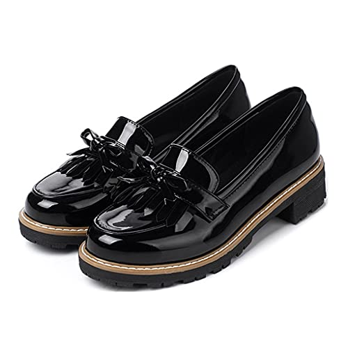 Top 10 best selling list for patent leather flat heel womens shoes