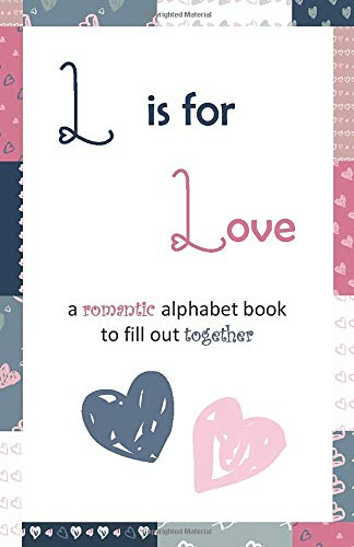 L is for love: (Gray-Pink-Navy)