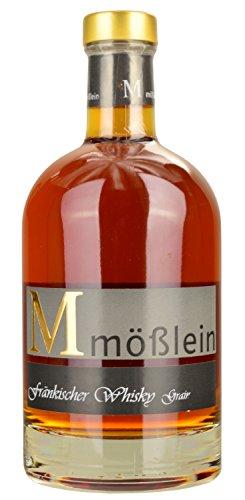 Mößlein Fränkischer Whisky Grain 5 Jahre im Eichenholzfass gereift (1 x 0.50l)