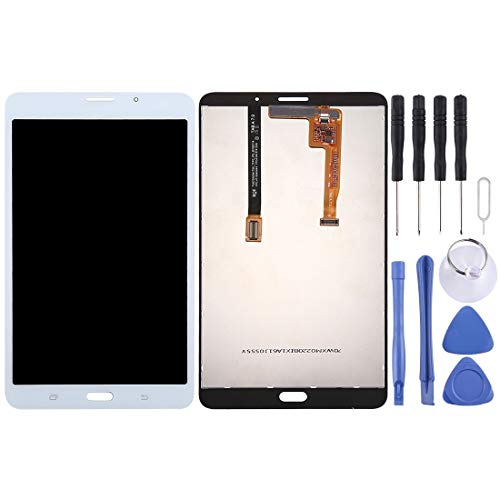 CHEZHAN -LCD Screen and Digitizer Full Assembly for Galaxy Tab A 7.0 (2016) (3G Version) / T285(Black) (Color : White)