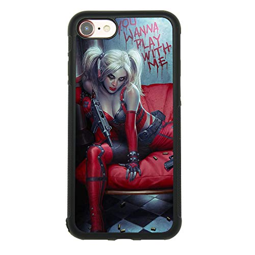 41nPLt3bwyL Harley Quinn Phone Cases iPhone 8