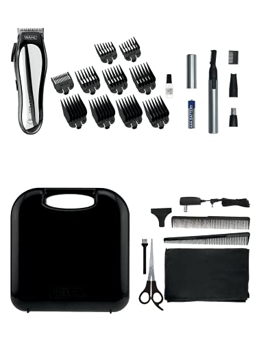 Wahl 79600-5640 - Lithium Ion Clipper with Dual Head Ear and Nose Trimmer