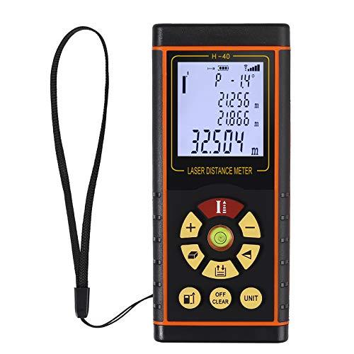 Proster Entfernungsmessgerät Entfernungsmesser Distanzmesser Distanzmessgerät Laser-Entfernungsmesser mit LCD Display