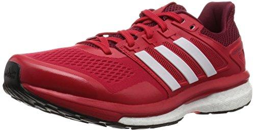 adidas Supernova Glide 8 M, Zapatillas de Running Hombre, Rojo (Rojray/Ftwbla/Buruni), 40
