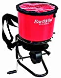 Earthway Products 199435 3100 Professional 40lb. Hand Crank Broadcast Spreader, Red