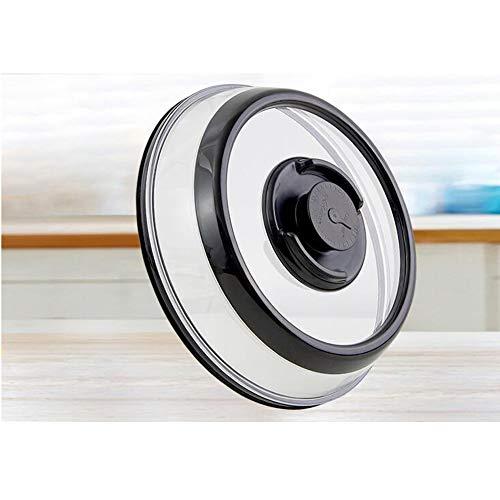 Universele vacuum luchtdichte afsluiting voedselmachine container plaat schotel deksel flip koepel stapelbaar magnetron afwasmachinebrandkast