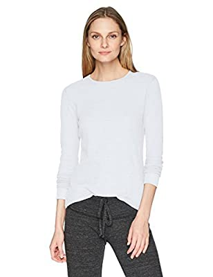 Fruit of the Loom Women's Thermal Waffle Top, Arctic White, Small