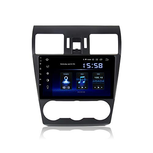 """Dasaita 9"""" Android 9.0 Bluetooth Car Stereo Head Unit with 4G RAM / 64G ROM for Subaru XV Forester WRX 2013 2014 2015 Car Radio Touch Screen GPS Navigation Dash Kit Built in DSP 15Band EQ"""