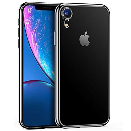 NEW'C Funda para iPhone XR, Anti- Choques y Anti- Arañazos, Silicona TPU, HD Clara