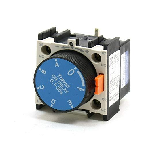 X-DREE Contactor Auxiliar C-LA2-D22.A65 1NO 1NC 0.1-30s Temporizador neumático (bac369d6f80f39778a7a1380d8a0cb21)