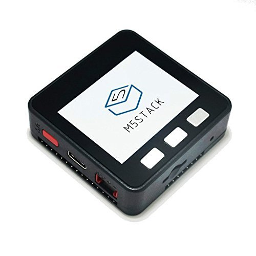 M5Stack拡張可能なマイクロ制御モジュールWiFi Bluetooth ESP32開発キットArduino LCD用2インチLCD ESP-32内蔵ESP8266 (1セット)