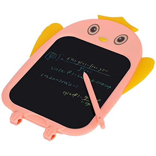SALUTUYA Tableta de Dibujo para niños, Tableta de Dibujo Digital, alimentada por batería de botón, Herramientas de Pintura,