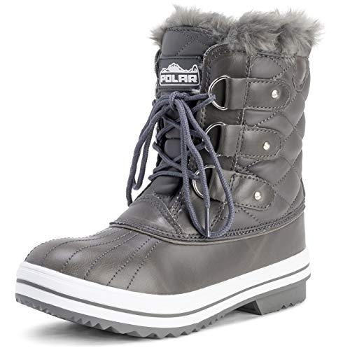 Dames Snowboot gewatteerde korte winter sneeuw regen warme waterdichte laarzen - 7 - GRL40 YC0024