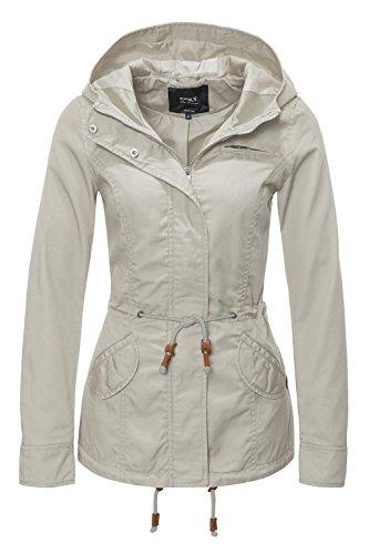 ONLY Damen Jacke Onllorca Spring Parka Jacket CC Otw, Beige (Peyote), Gr. S