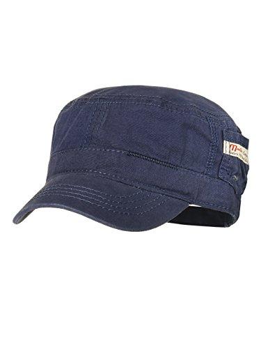 maximo Jungen Tellercap mit kleiner Tasche Kappe, Blau (Tinte 4), 51/53