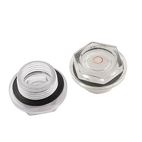 26° mm diameter, compressor-olie vloeibaar kijkglas, 2 stuks