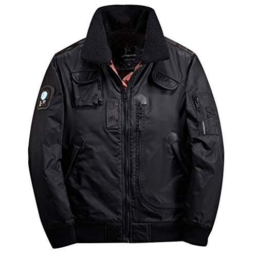 Willlly heren bomberjack met industries heren chic casual jas winterjas lange mouwen revers vintage mode warme jas jas outdoor