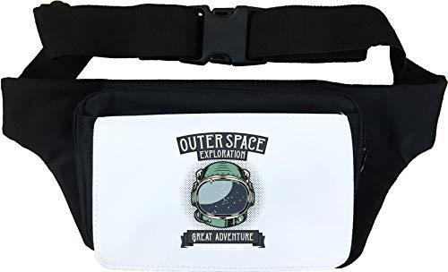 Outer Space Exploration Astronaut Helmet Sac de Taille