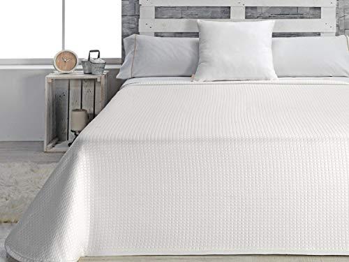 Huis textiel sprei voor bedden met 90, polyester, natuur, eenpersoonsbed, 42 x 34 x 9 cm