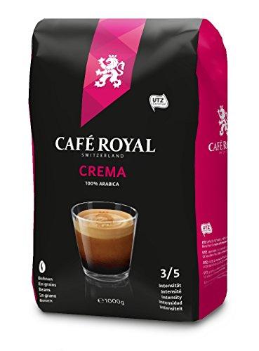 Café Royal Crema Granos de Café, Café Tostado, Granos Completos, Granos de Café , 1000 g