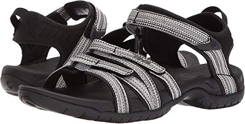 Teva Women's W Tirra Sport Sandal, Black/White Multi, 9 M US