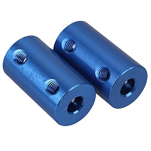 Conector de eje de alumbre de engranaje de motor 2 x Acoplador de acoplamiento rígido sólido 5 mm x 8 mm por LIANG XINGS
