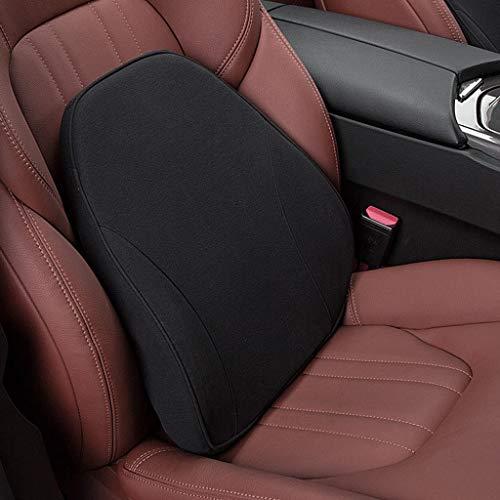 Zhangapn1 auto taille kussen, auto stoel Lumbar ondersteuning bureaustoel lage rug kussen taille bescherming geheugen katoen auto product houding correctie