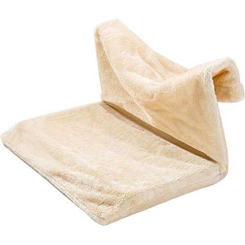 ZHHAOXINPA Gezellige Kat Bed Verwijderbare Vensterbank Kat Radiator Bed Hangmat Perch Seat Lounge Huisdier Kitty Hangend Bed Gezellige Kat Hangmat Mount Huisdier Stoel Klein huisdier, A