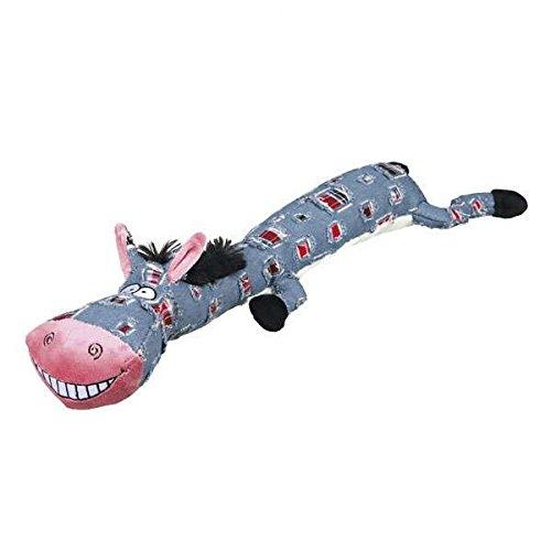 Trixie Esel Plüsch Spielzeug für Hunde, 55 cm