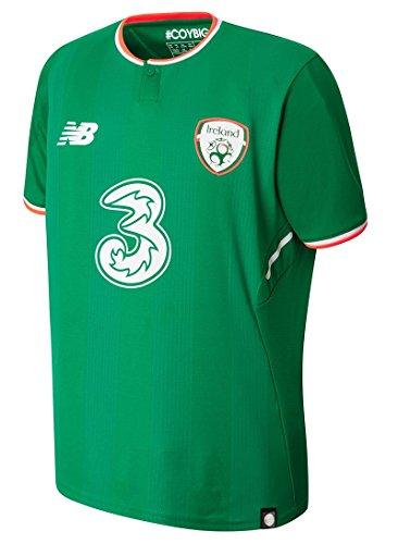 New Balance Niño Irlanda Uniforme Titular Camiseta 2017 2018 XL (13 años)