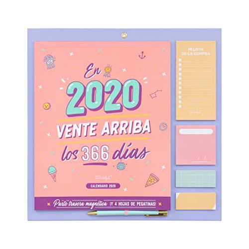 Calendario de pared 2020 - En 2020, vente arriba los 366...