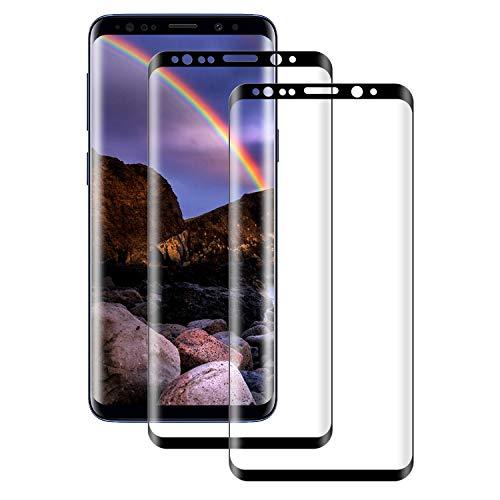 Aspiree 2-Unidades Cristal Templado Samsung Galaxy S8, Protector de Pantalla Cristal Vidrio...