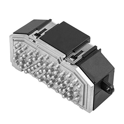 Hlyjoon 3C0907521F Soplador Resistencia del Motor Aire Acondicionado Calentador Ventilador Resistencia del Resistor Controlador de Velocidad para A3 Q7 TT Q3 Altea Toledo Leon Octavia