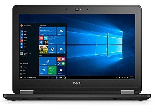 Dell Latitude E7270 8HGMT 12.5-Inch Laptop (Black) - (Intel Core-i5 6300U 2.4 GHz, 4 GB RAM, 128 GB SSD, Intel HD Graphics 520, Windows 10) (Renewed)