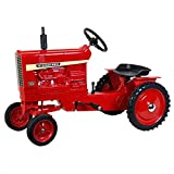 Scale Models - Dyersville Diecast International 1456 Full Size Wide Front Pedal Tractor with Fenders and Muffler ZSM1217