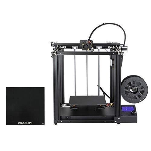 UWY Precision 3D Printer Ender-5 Large Size Cmagnetic Build Plate Power Off Resume Easy Biuld (Color : Ender 5 n Glass) (Color : Ender 5 N Glass)