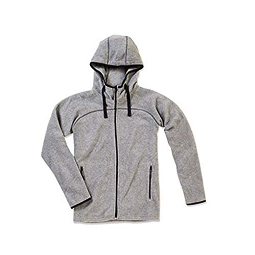 Stedman - Polaire Active Power - Homme (M) (Gris Clair)
