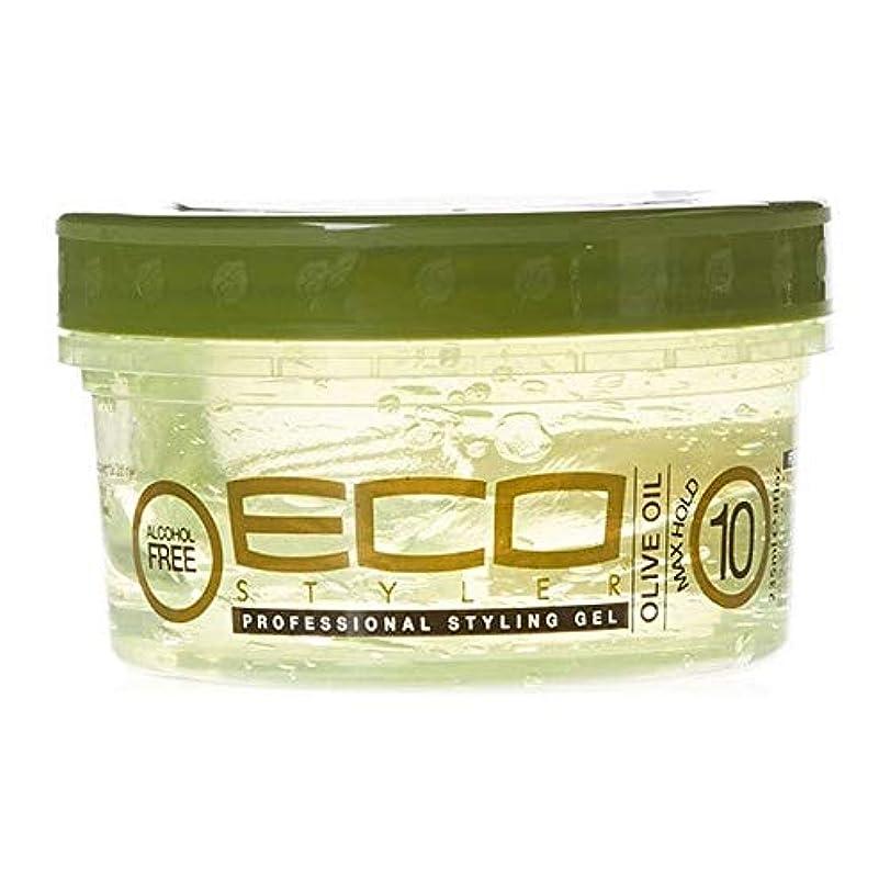 呼吸構造的アレイ[ECO STYLER ] エコスタイラオリーブ油スタイリングゲル236ミリリットル - ECO Styler Olive Oil Styling Gel 236ml [並行輸入品]
