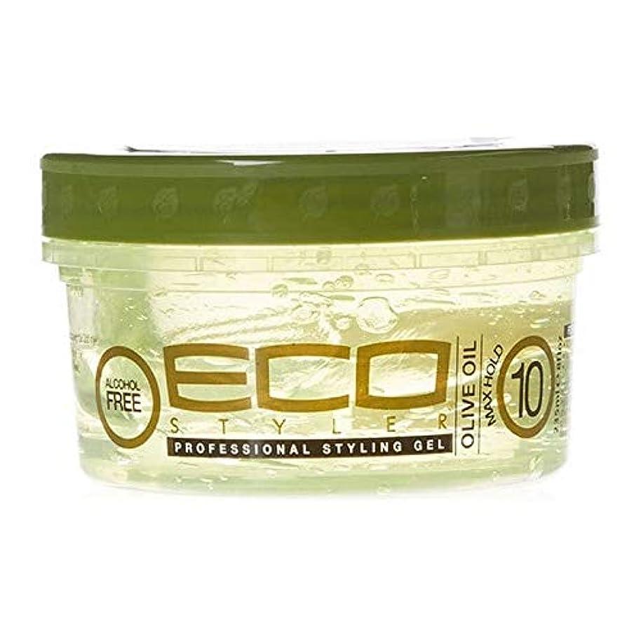 パレード承認ミルク[ECO STYLER ] エコスタイラオリーブ油スタイリングゲル236ミリリットル - ECO Styler Olive Oil Styling Gel 236ml [並行輸入品]
