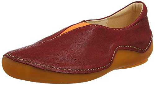 Think! Damen KAPSL_484060 Slipper, Rot (Cherry/Kombi 74), 40.5 EU
