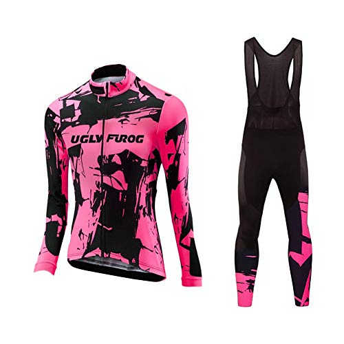 Uglyfrog Designs Ciclismo Jersey Mujers Bicicleta Ropa Camis
