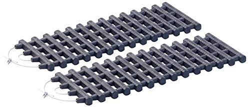 Lescars Winter Anfahrhilfe: 2er-Set Kfz-Anfahrhilfen mit Tragetasche, 60 x 22 cm (Schnee-Anfahrhilfe)