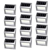 Best Step Lights - [12 Pack]iThird Solar Powered Step Lights 6 LED Review