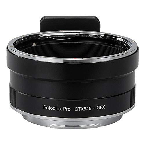 Fotodiox Pro Lens Mount Adapter, Contax 645 (C645) Mount Lens to Fuji G-Mount GFX Mirrorless Digital Camera