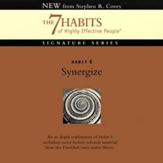 Synergize audiobook cover art