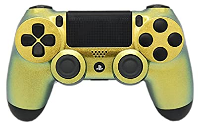 Green Chameleon PS4 Modded Rapid Fire Controller, Works with All Games, COD, Rapid Fire, Dropshot, Akimbo & More